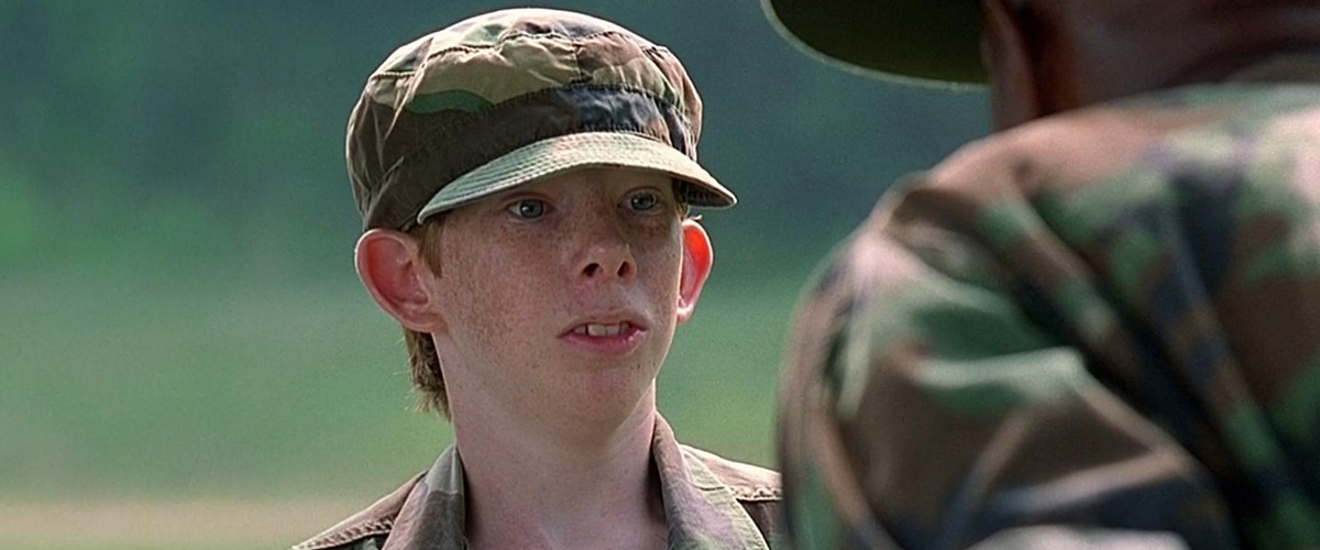 major payne Although it's not considered an all-time military movie classic like full metal  jacket or stripes, the 1995 military comedy major payne is an.