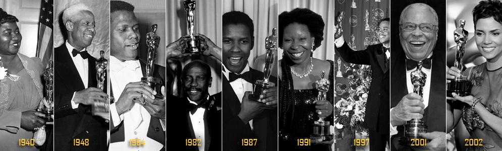 Les Oscars et les Noirs Américains